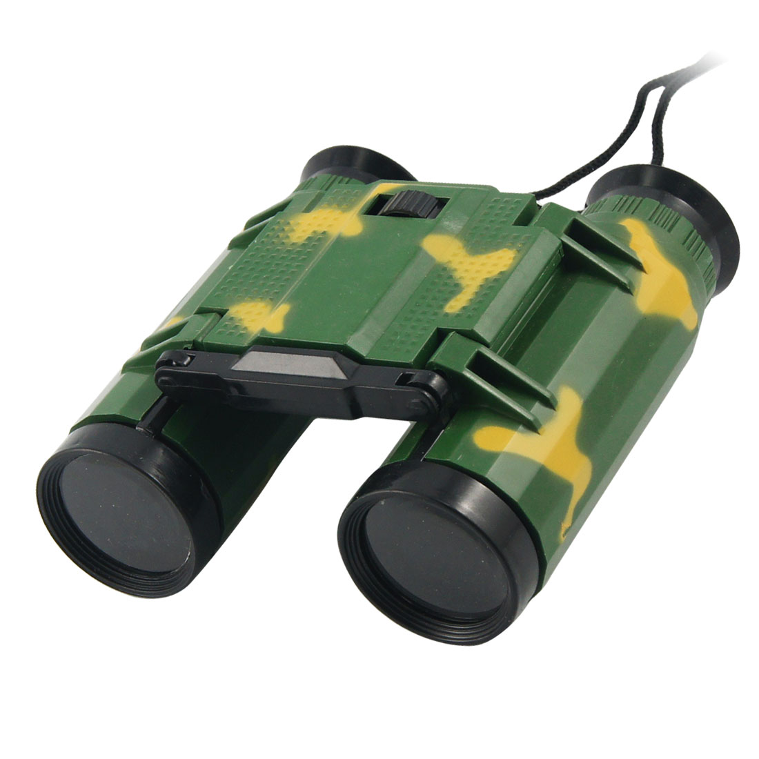 Camouflage Color Plastic 2 x 26mm Binocular Toy for Children