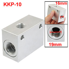"KKP-10 One Way Flow G 3/8"" Vent Thread Pipe Air Pneumatic Exhaust Valve"