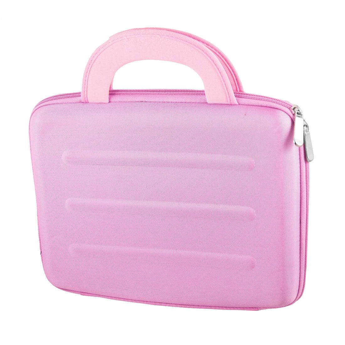 "10"" 10.1"" 10.2"" Pink Laptop Sleeve Bag w Handle"