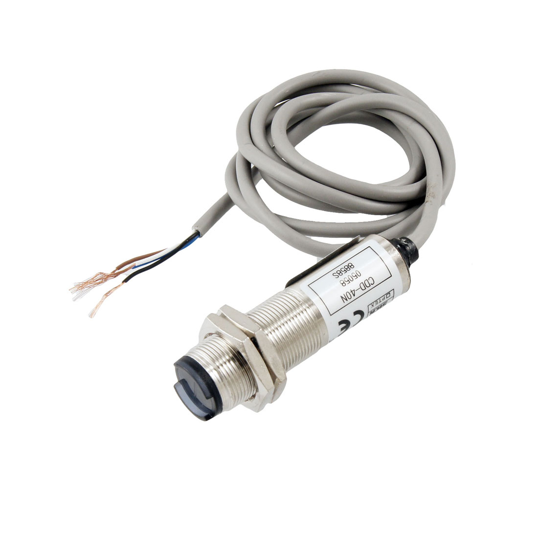 CDD-40N Cylindrical Type Photoelectric Sensor Switch DC 12-24V