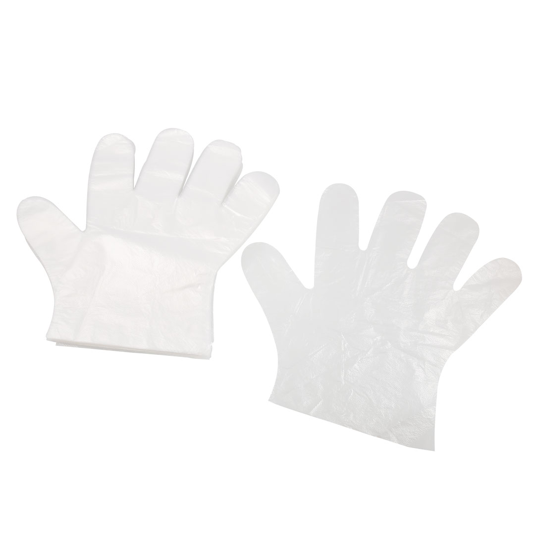 Kitchen Cleaning Multipurpose Plastic Disposable Gloves 50 Pcs