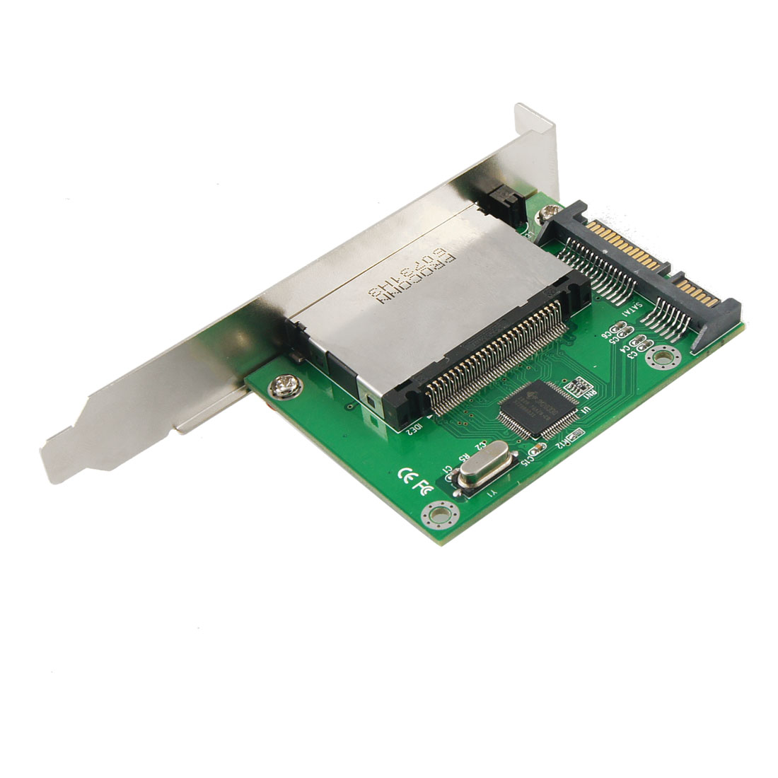 CF Compact Flash Memory Card to SATA Converter Adapter