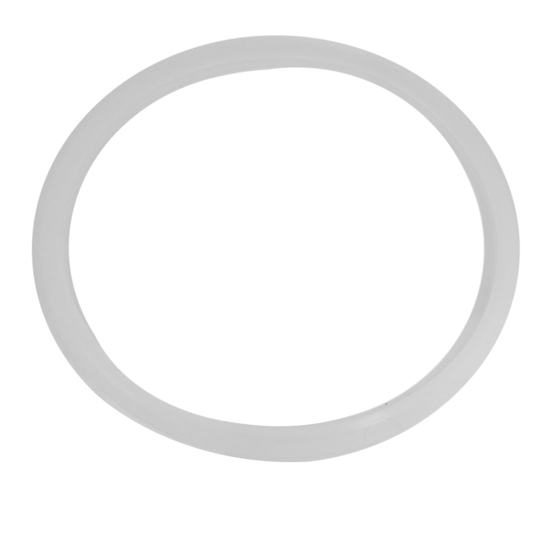 """Cookers White Silicone Gasket Sealing Ring 11.8"""" Inside Dia"""