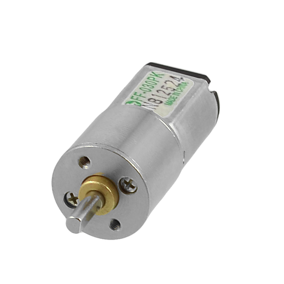 Electric 50RPM Output Speed 3V 0.35A 16GA 2-Terminals DC Geared Motor