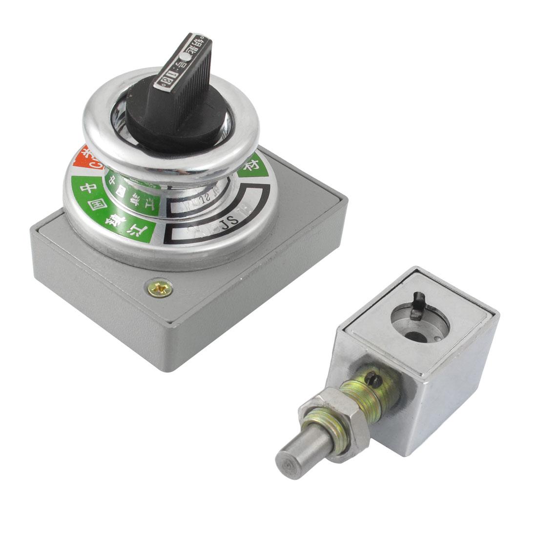 10mm x 6.4mm Mounting Bracket Prevents Wrong Locking Device Procedure Lock