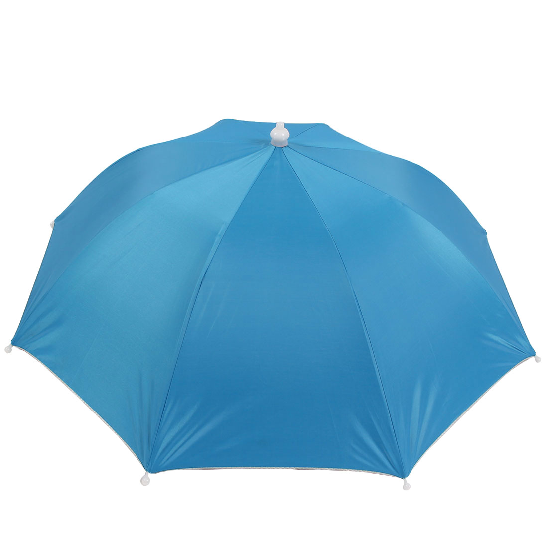 Outdoor Fishing Camping Blue Umbrella Hat Headwear Cap