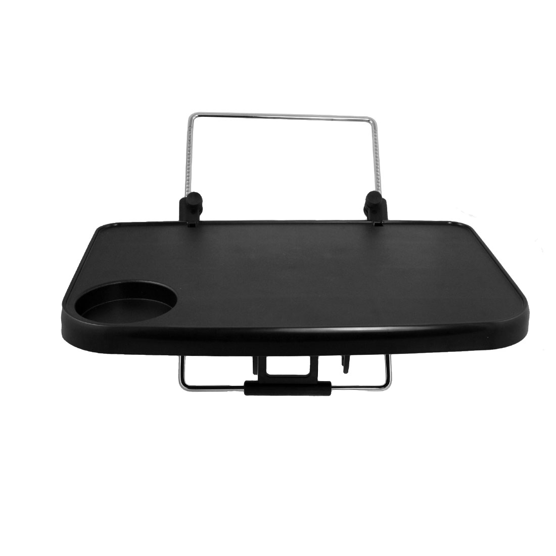Car Auto Interior Adjustable Tray Bracket Holder Black for Laptop