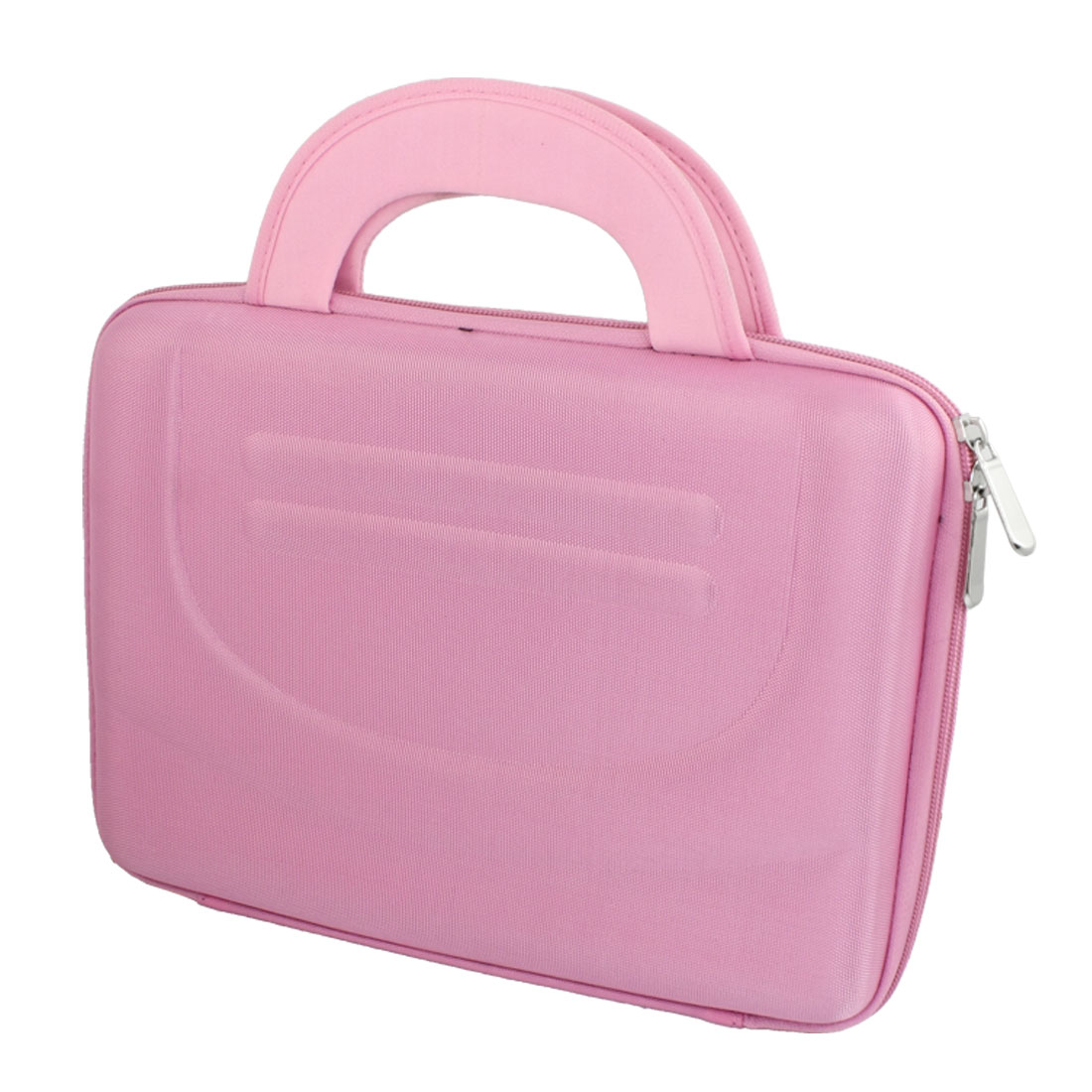 "10"" 10.1"" 10.2"" Pink Laptop Sleeve Handbag + Zipper"