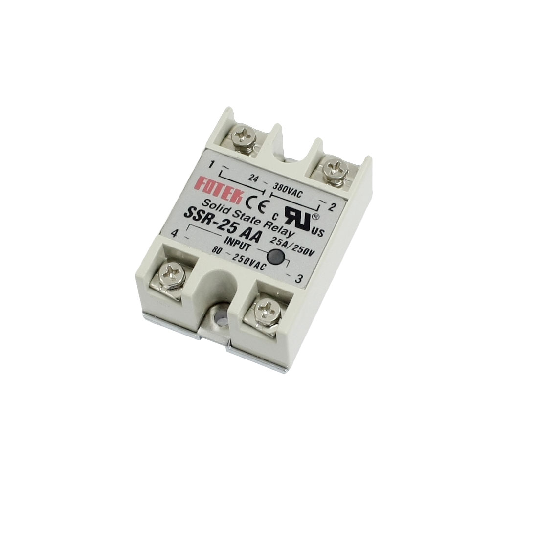 SSR-25AA 80-250V 25A Machinery Control AC Solid Module State Relays