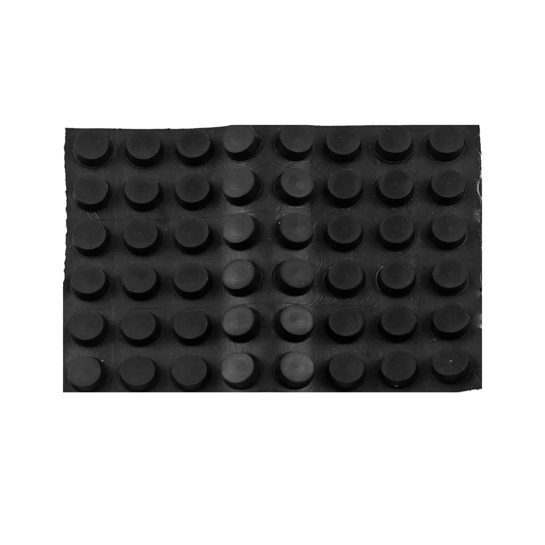 Home Table Floor Adhesive 12mm x 5mm Mini Rubber Pads Black