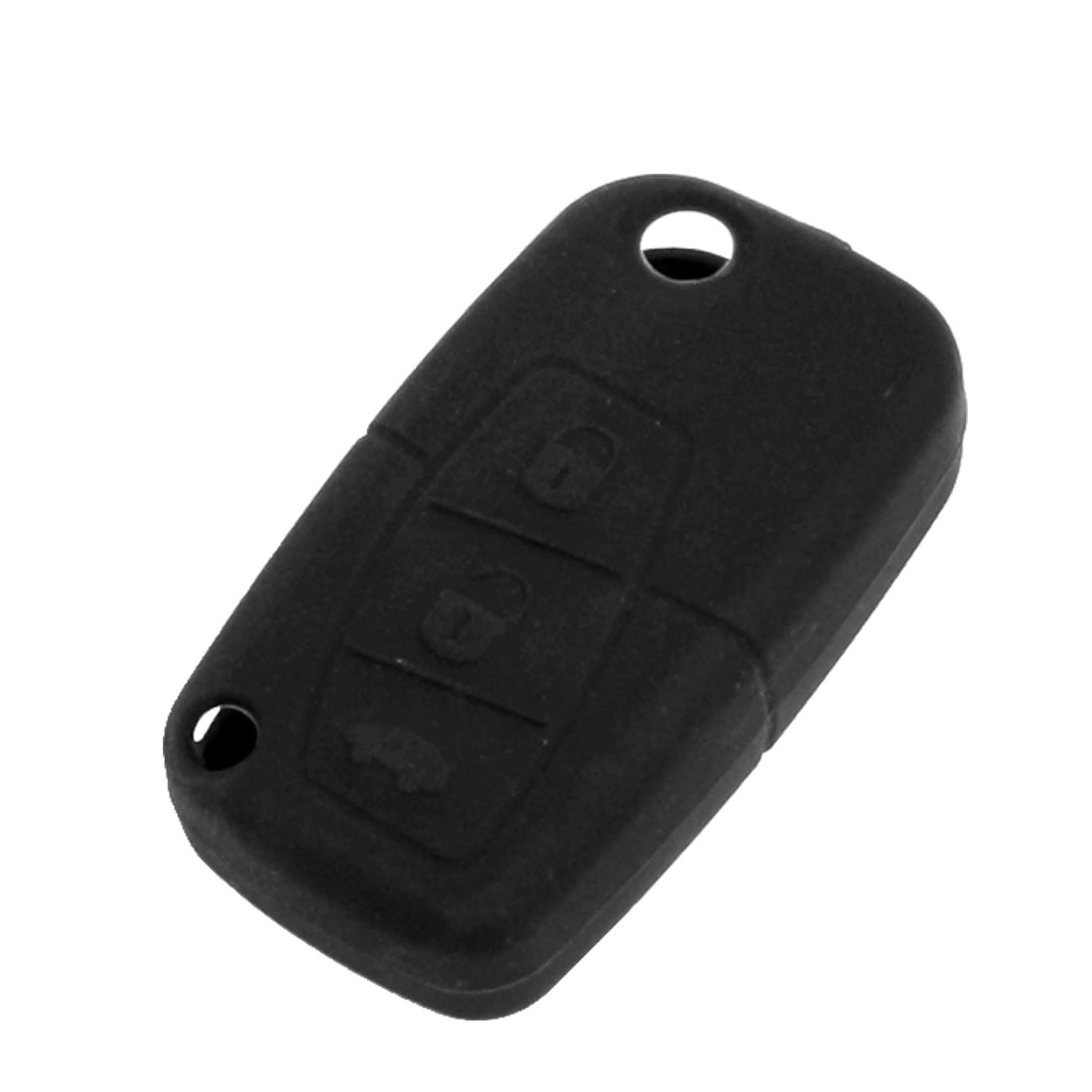 Black Soft Silicone Key Holder Case for Haima Family Freema
