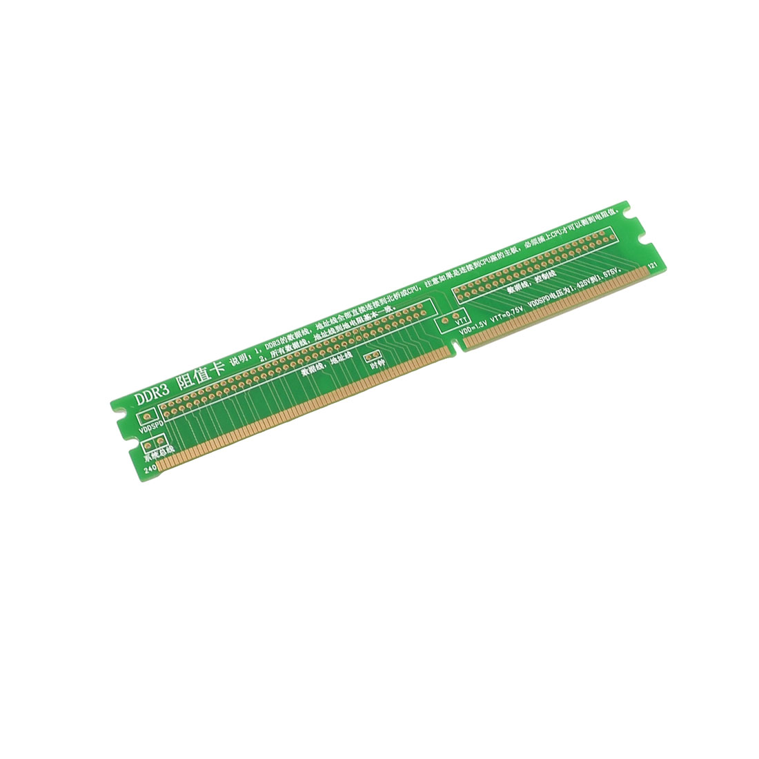 Desktop Motherboard Repair Tool DDR3 Mini-PCI Resistance Card