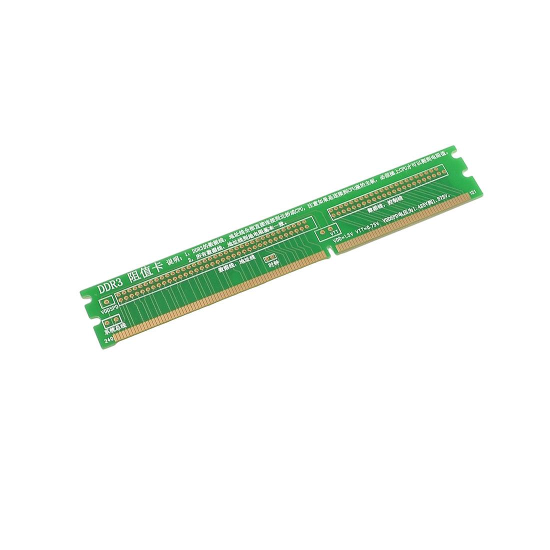 Desktop Motherboard Repair Tool DDR3 Mini-PCI Resistance Card