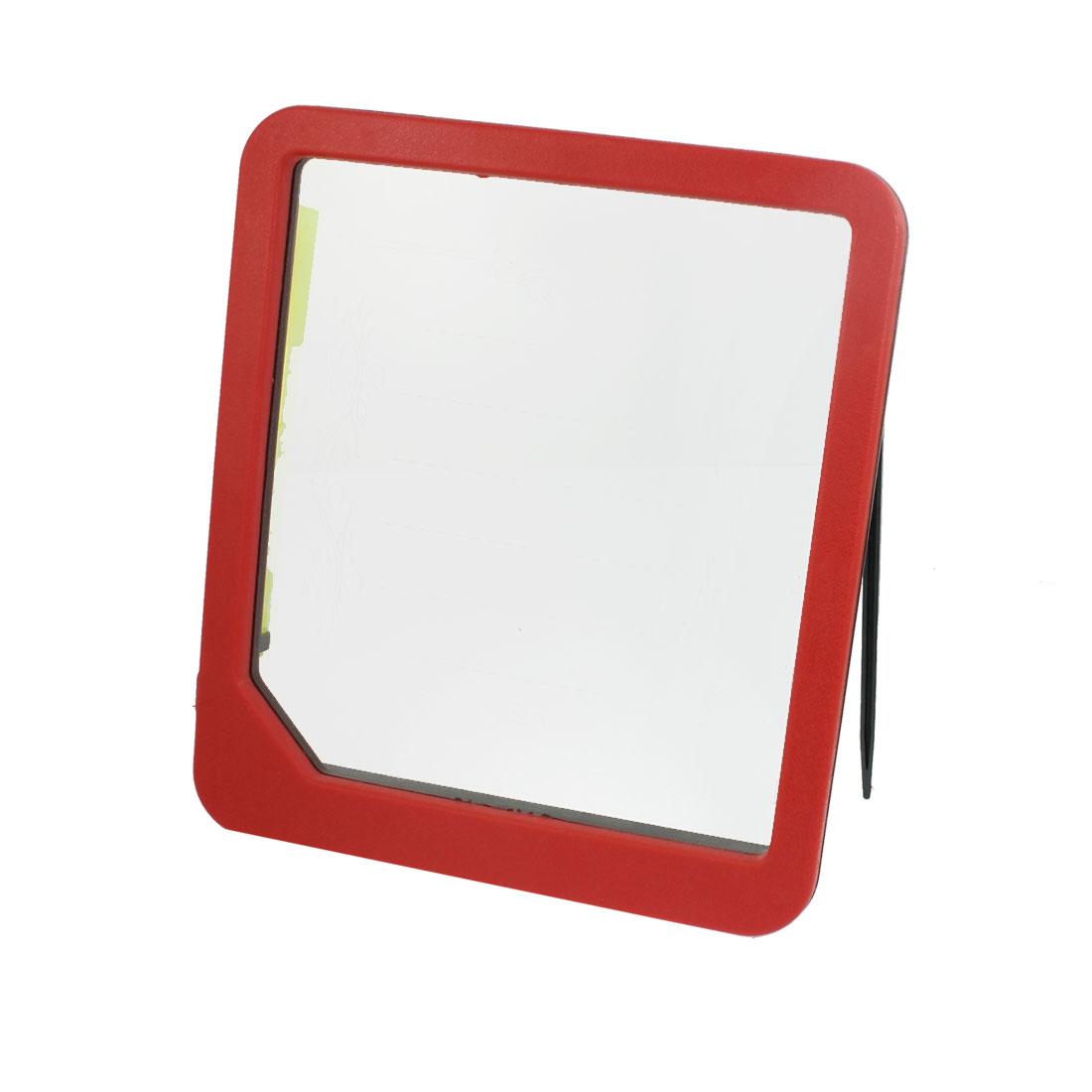 22.5cm x 20cm Red Black Plastic Frame Blue LED Light Message Menu Sign Board