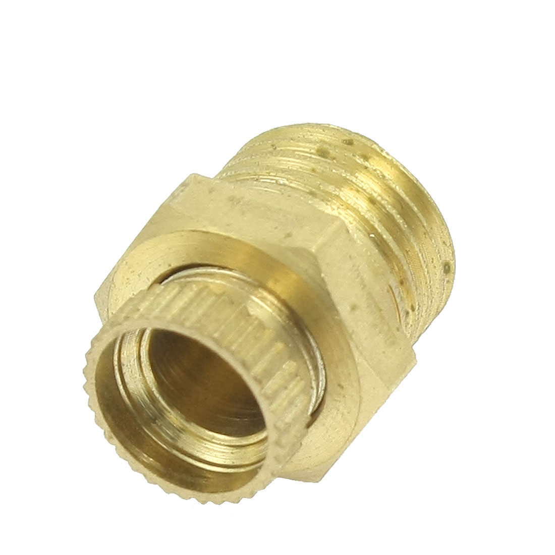 "PT 1/4"" Male Threaded Metal Water Drain Valve for Air Compressor"