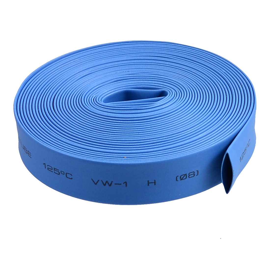 8mm Diameter Ratio 2:1 Heat Shrinking Shrinkable Tube Blue 4M Long
