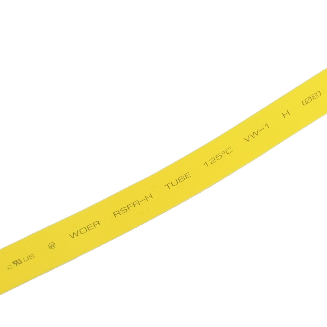 Ratio 2:1 4M 13Ft 8.0mm Dia. Heat Shrinkable Tube Shrinking Tubing Yellow