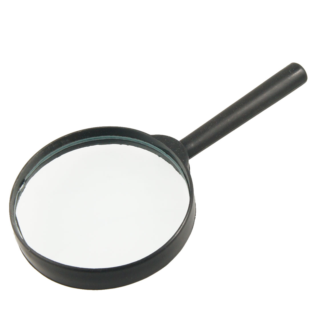 Black Plastic Handle 75mm Diameter Lens 3X Magnifier Magnifying