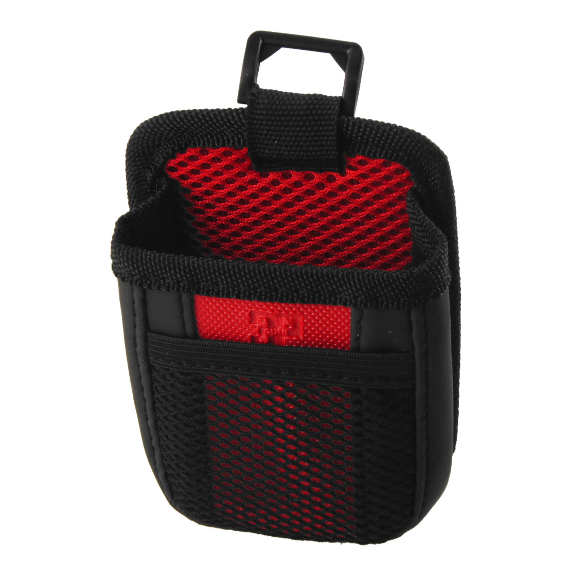 Auto Car Air Vent Phone Storage Pouch Holder Black Red