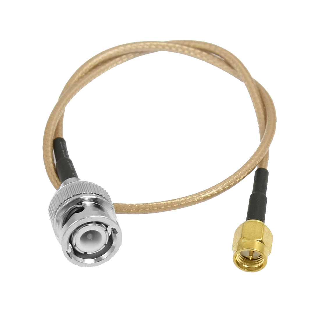 "SMA Male to BNC Male Antenna Coax Pigtail Adapter Connector Cable 13.4"" Long"