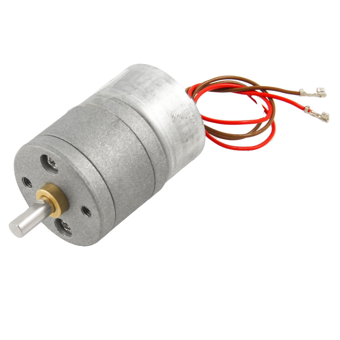 70 RPM 6V 45mA DC 4mm Dia Shaft Magnetic Gear Box Motor w 2 Wires