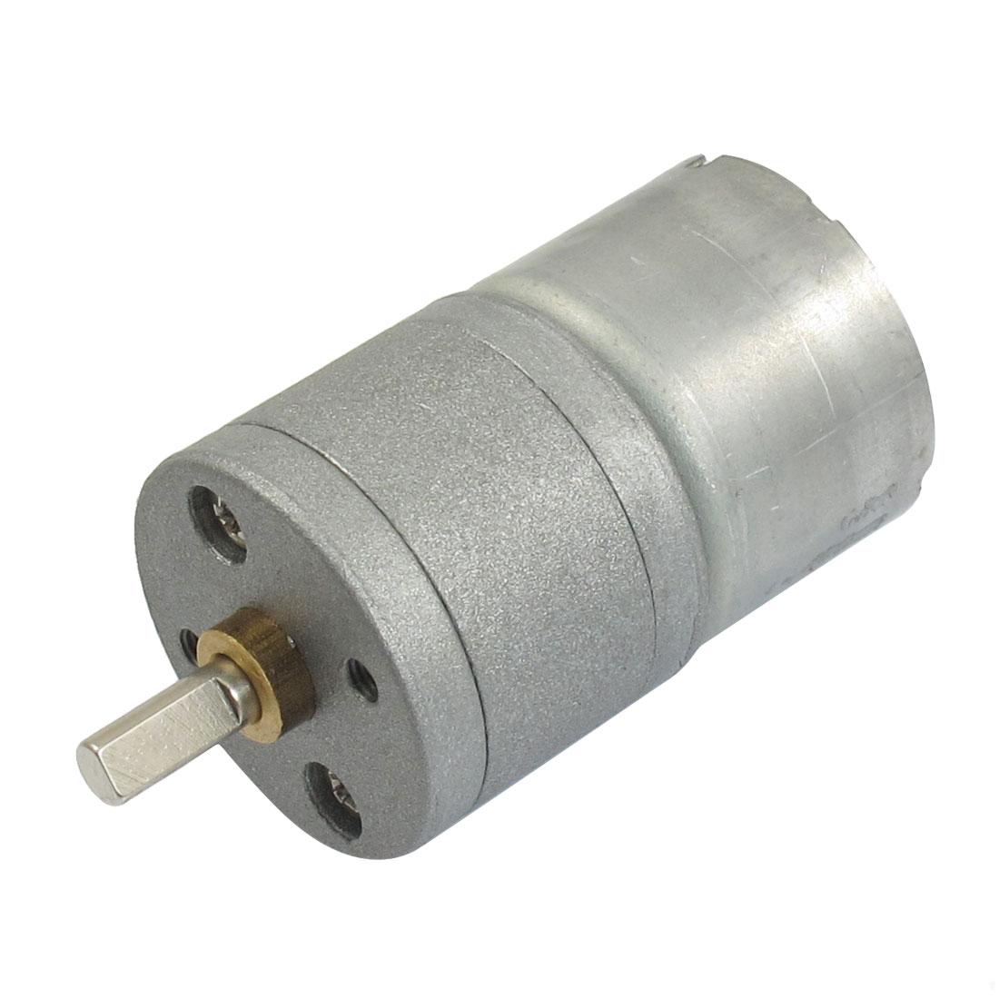 Repairing Part 4mm Shaft Dia DC 3V 60RPM 0.5A 25GA Electric Geared Motor