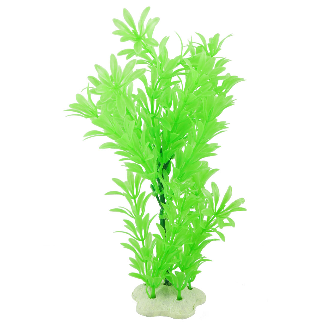 """9"""" Simulation Aquascaping Water Mini Grass Pale Green Ornament for Fish Tank"""