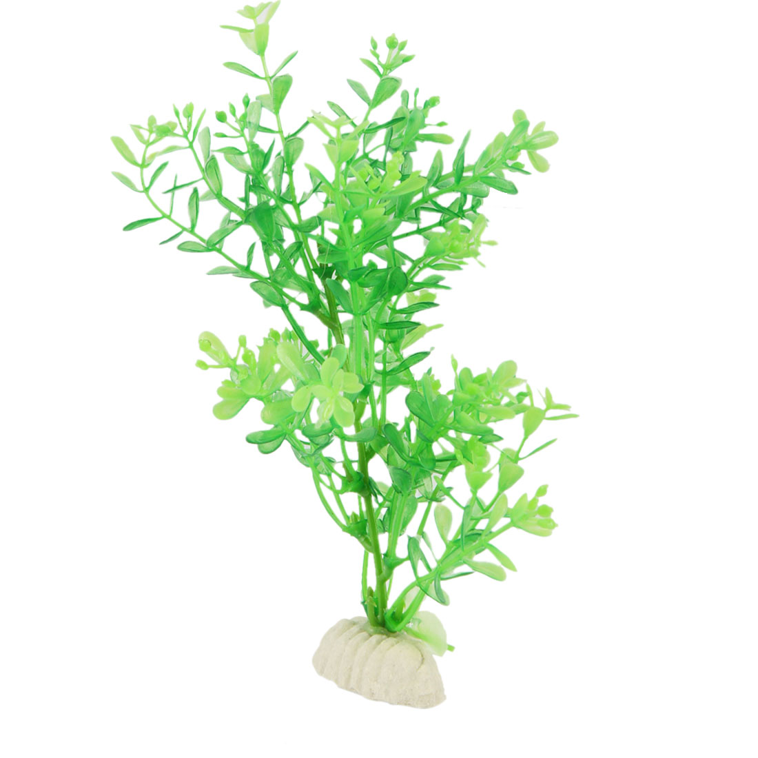 "7.1"" Simulation Aquascaping Water Mini Grass Green Ornament for Fish Tank"