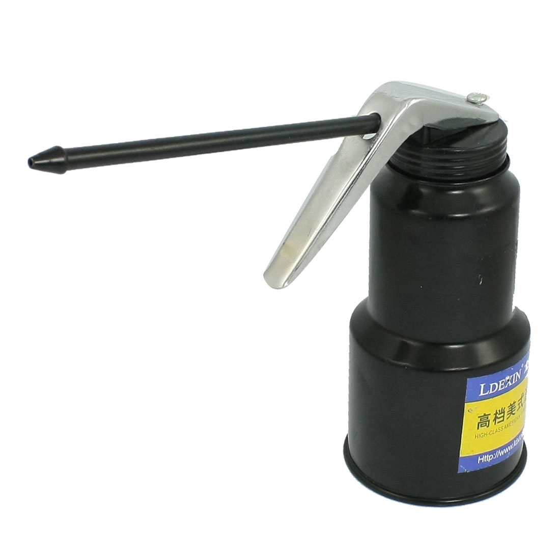 Aluminium Alloy Pneumatic High Pressure Feed Oil Gun Black