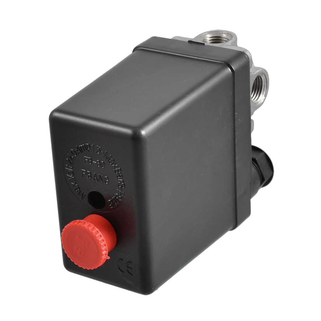 240V 15A 4-port Air Compressor Pressure Switch Control Valve 115 PSI 8 Bar