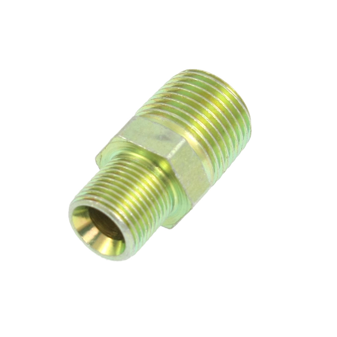 "3/8"" Flare to 1/2"" Male Thread Straight Connector Fuel Line Fitting"