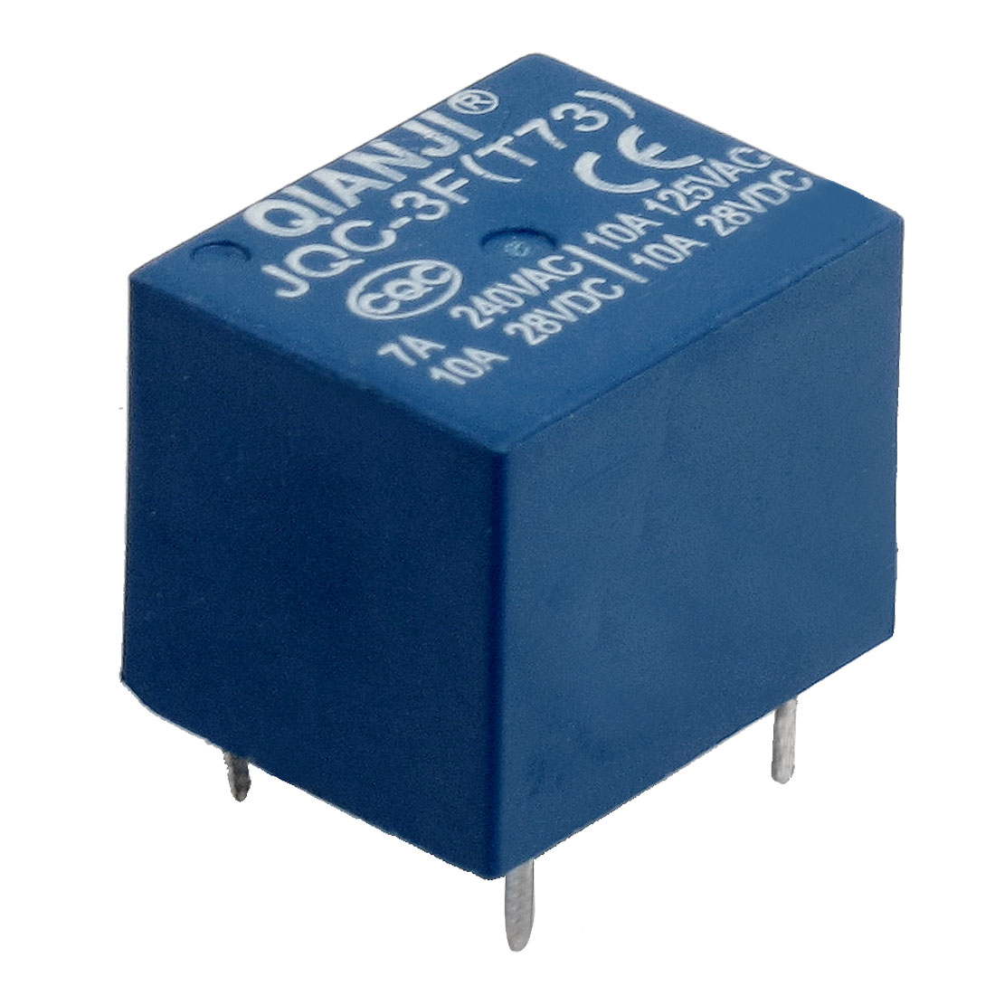 JOC-3F(T73) DC 12V Coil 5 Pin AC 125V/240V DC 28V Power Relay