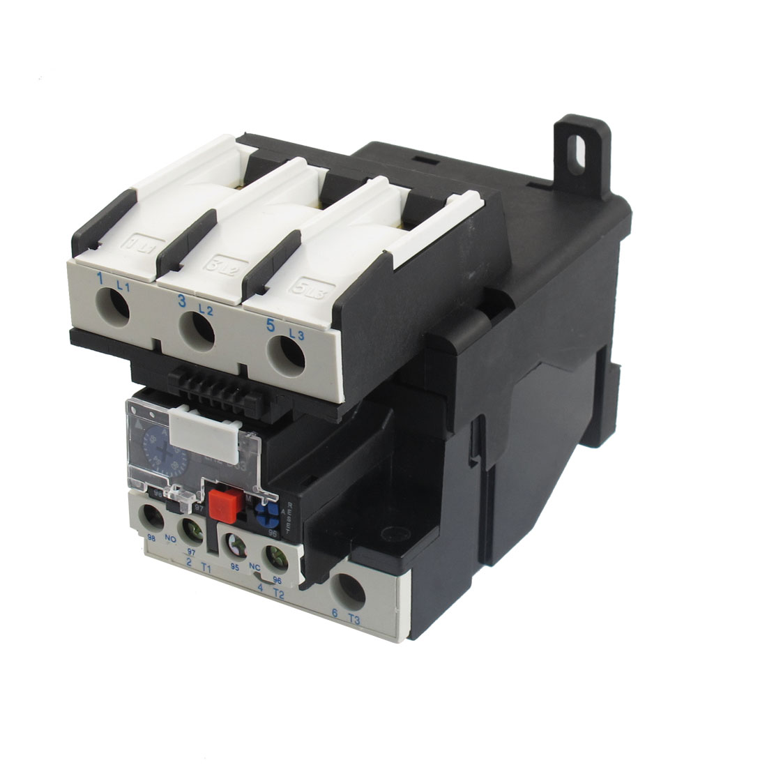 JR28-33 65A 690V 1NO 1NC 3 Phase Thermal Overload Relay w Socket