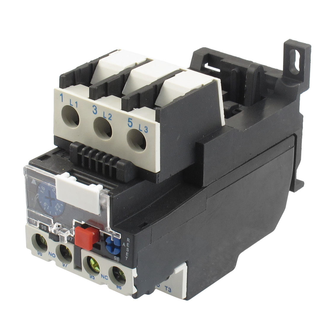 690V 2.5A Rated Current 1 NO 1 NC Thermal Overload Relay