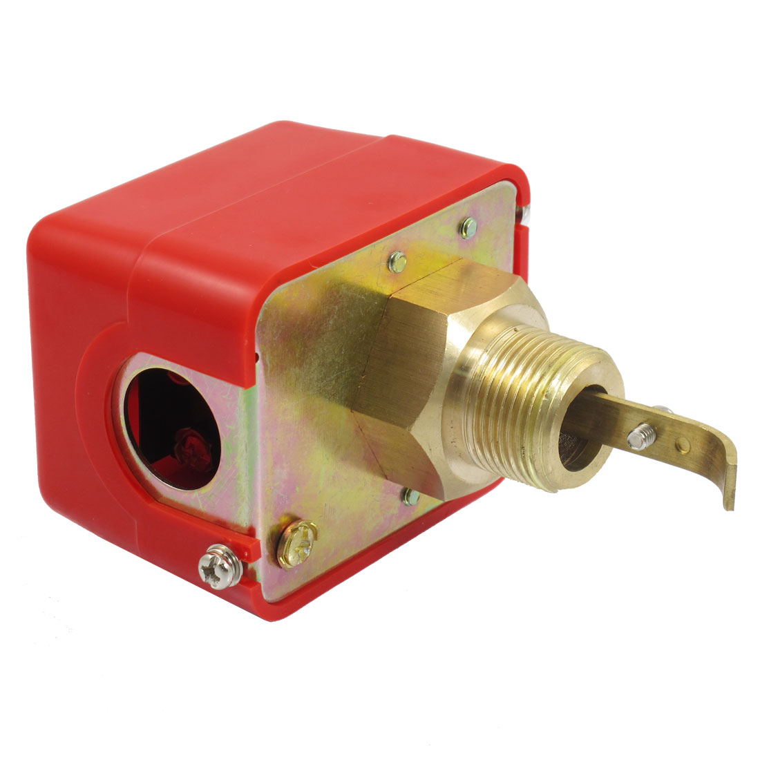 "AC 250V 15A SPDT G5/8"" Thread Connection Water Flow Paddle Control Switch"
