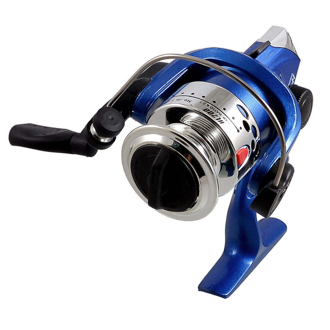 Foldable Handgrip Gear Ratio 2:1 3-Ball Bearings Fishing Spinning Reel HL200