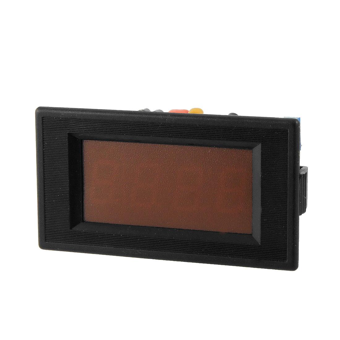 DC 0-50A 3 1/2 Digital Red LED Digits Panel Ampere Meter
