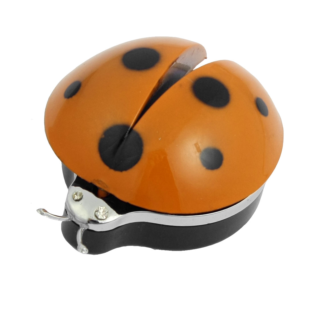 Car Vent Plastic Diffuser Ladybug Air Fresheners Orange w Clip