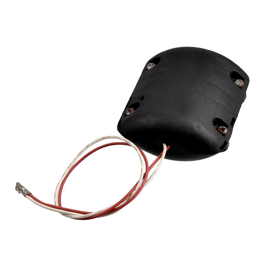 Black Shell DC 12V 0.25A 4100RPM Vibration Motor for Massage Cushion