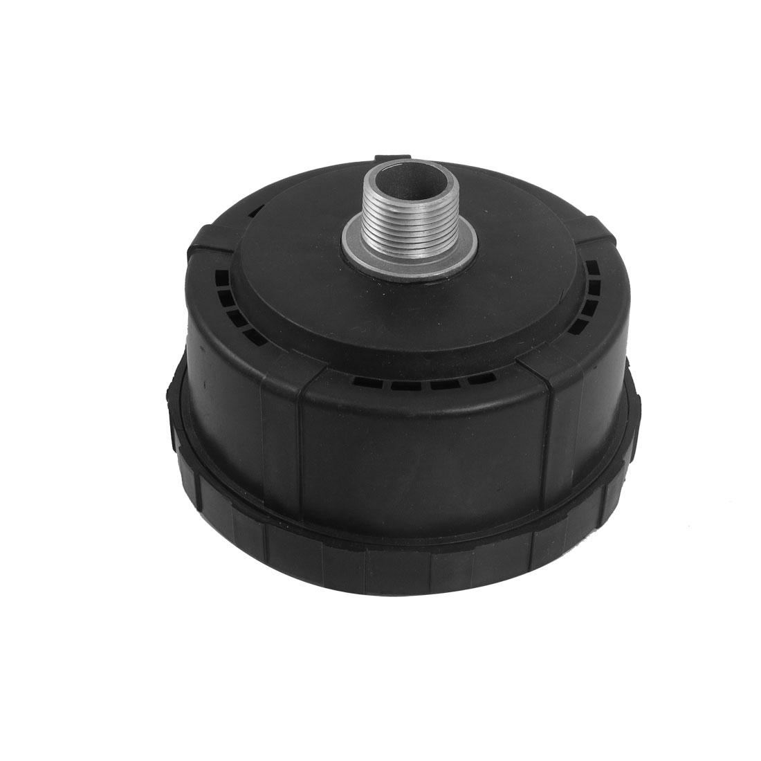 "1"" Thread Black Plastic Shell Air Compressor Silencer Filter"