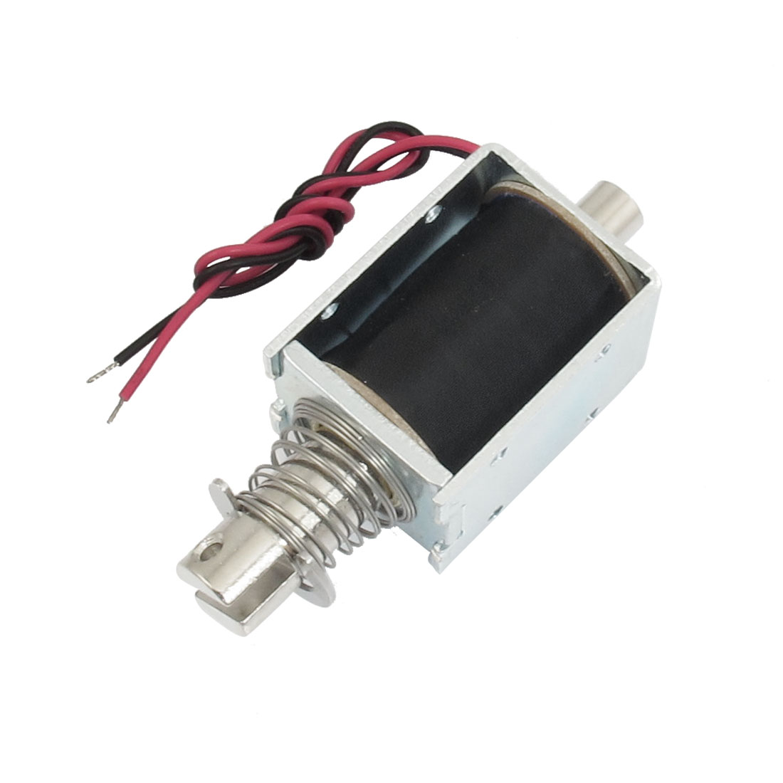 DC 6V 0.96A 10mm Stroke 0.3kg Force Push Type Solenoid Electromagnet