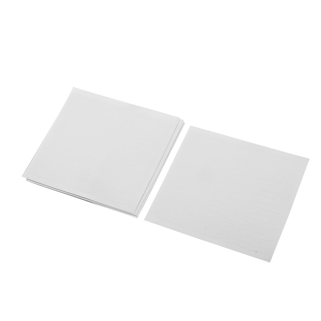 120 Pairs Plastic Clear White Wide Double Eyelid Adhesive Tapes Stickers