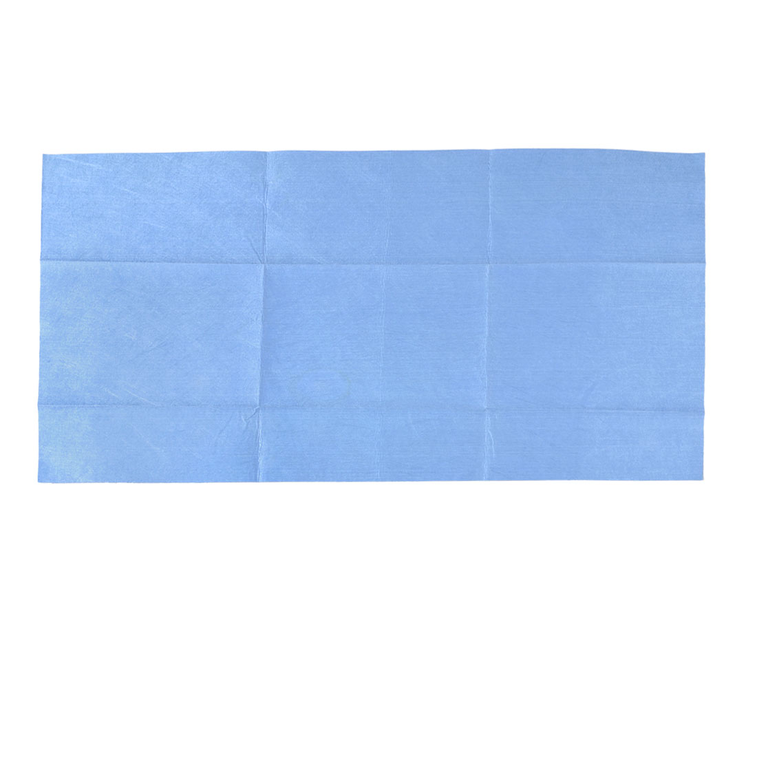 Home Vehicles Glass Cleaning Towel Washcloth 40cm x 80cm Blue
