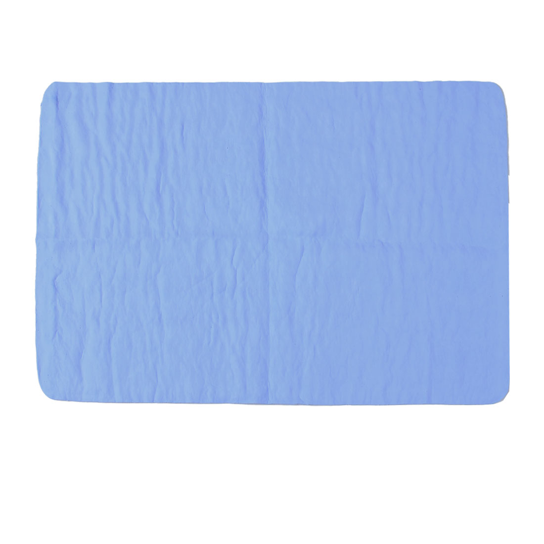 Vehicles Car Blue Synthetic Chamois Clean Cham Towel 43cm x 32cm