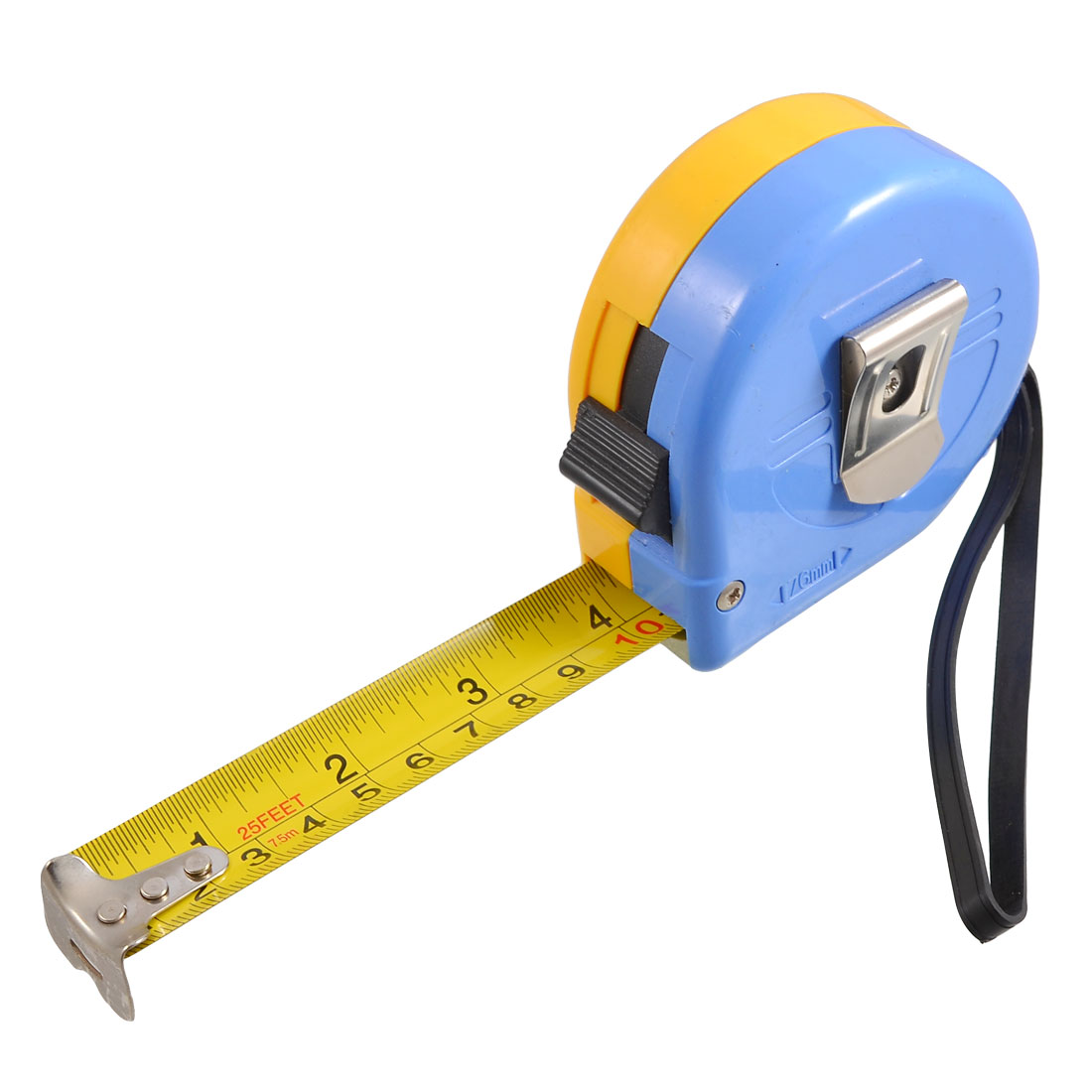 7.5M 25Ft Length Self Retractable Measuring Tool English Metric Ruler Tape