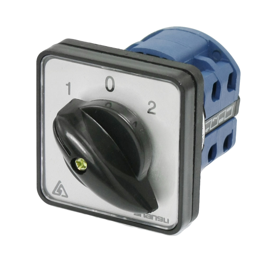On-Off-On 8 Terminals Change Over Control Rotary Cam Switch 20A 660V