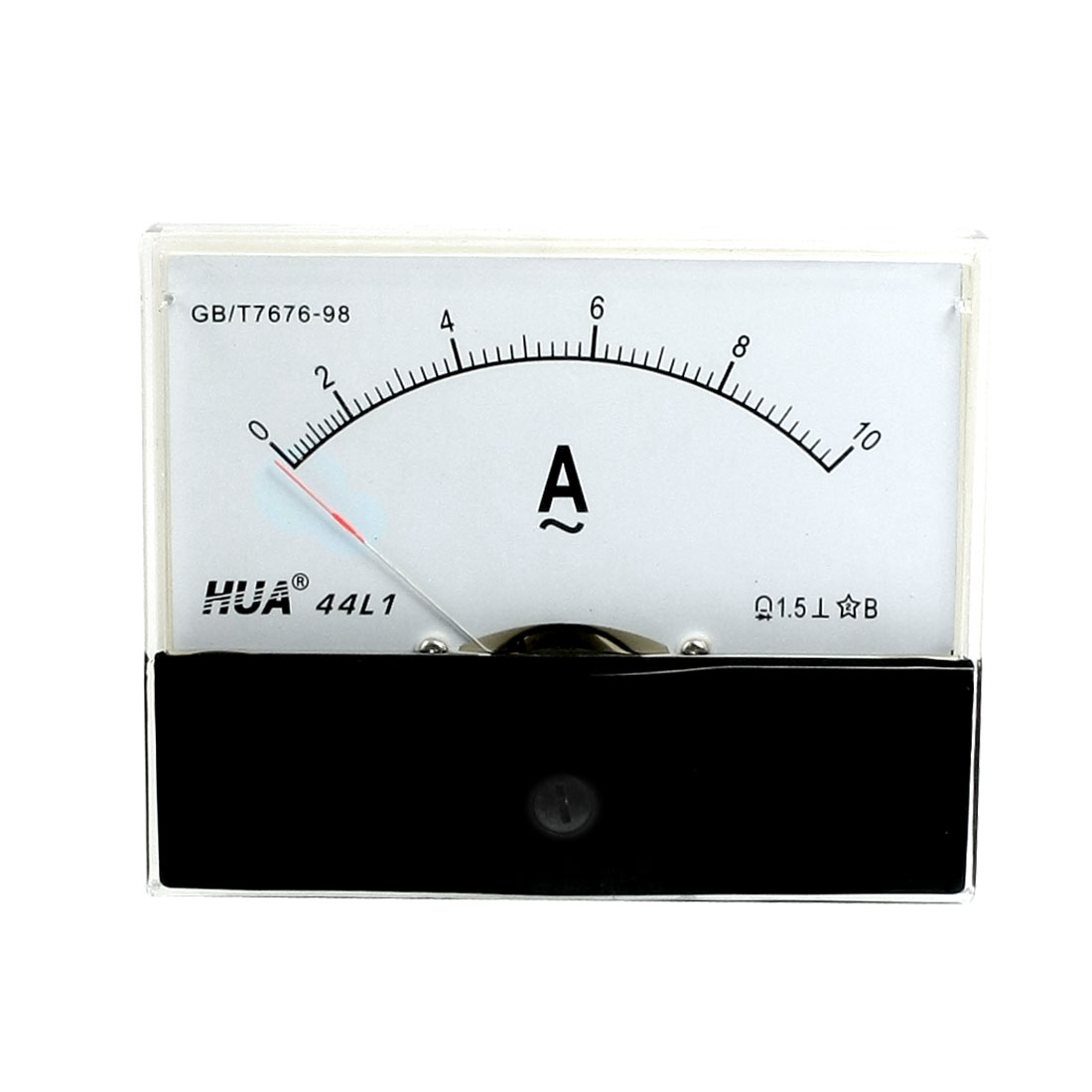 Class 1.5 Accuracy 0-10A AC Analogue Ammeter Current Panel Meter