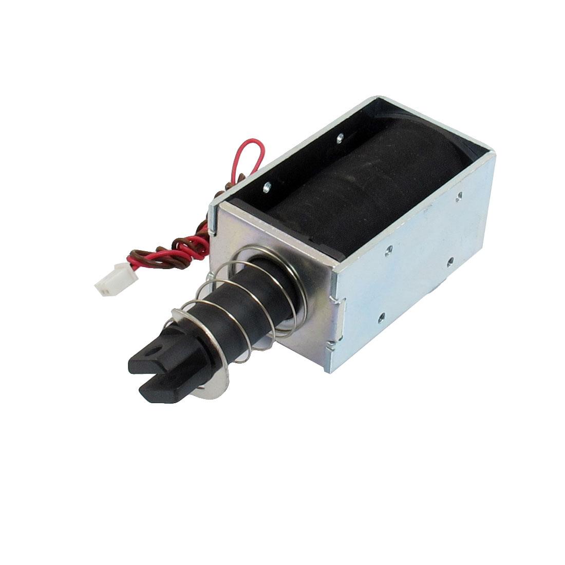 DC 12V 0.96A 100GF Force 19mm Stroke Solenoid Electromagnet