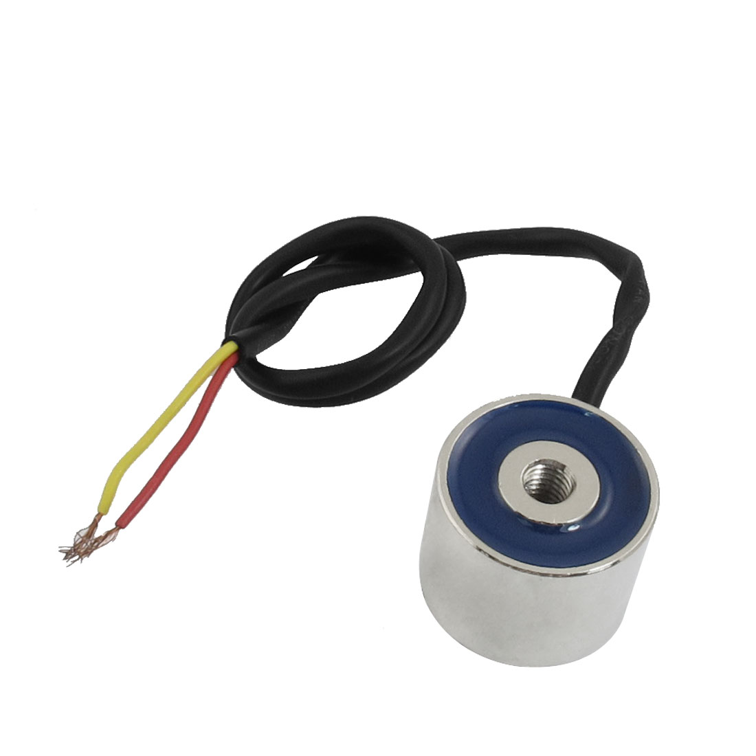 DC 24V 10kg 100N Lift Holding Sucked Type Round Solenoid Electromagnet