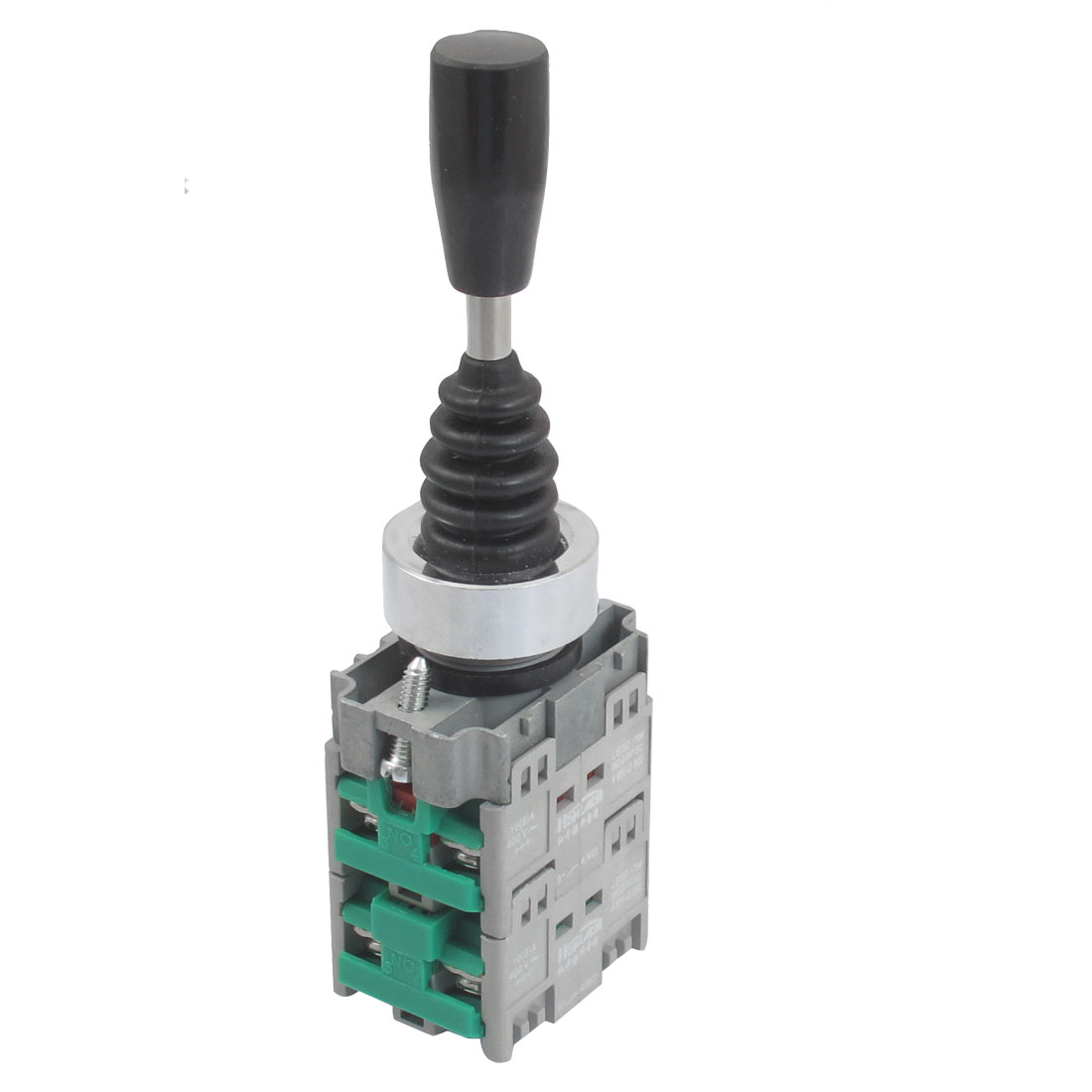 AC 400V 10A Latching 4 Normal Open 22mm Fixing Hole Joystick Switch